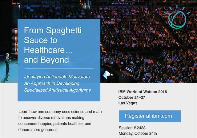 Speaking Engagement: IBM World of Watson 10.24.2016